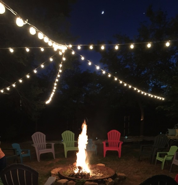 Relax by the fire at Bobcat Creek RV Park